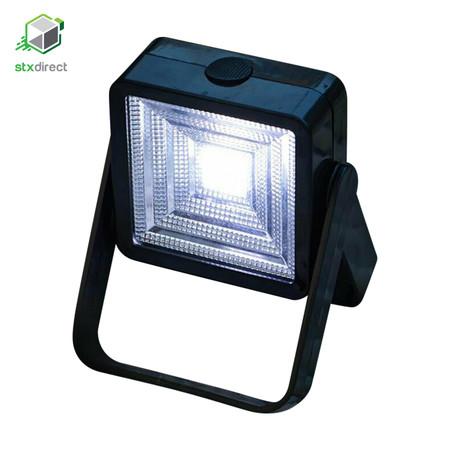 โคมไฟ LED สปอร์ทไลท์พร้อมแผงโซล่าเซลล์