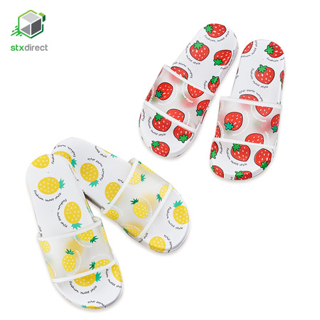 รองเท้าแตะลายผลไม้
