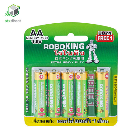 ROBOKING ถ่านขนาด AA