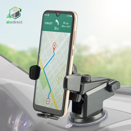 แท่นยึดโทรศัพท์มือถือติดกระจกรถยนต์