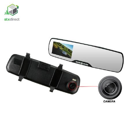 กระจกมองหลังติดกล้องในรถยนต์