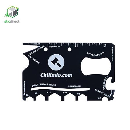 CHILINDO 18-in-1 การ์ดเครื่องมือช่างพกพา