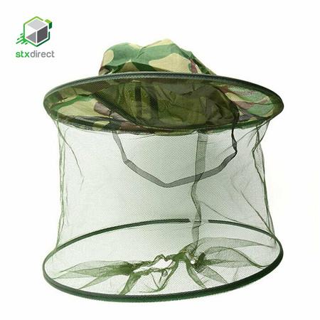 STX Direct หมวกปีกพร้อมตาข่ายกันแมลง