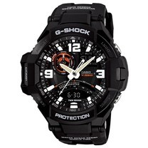 นาฬิกา G-Shock Gravity GA-1000-1ADR ระบบเข็มทิศ แสดงอุณหภูมิ