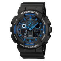 นาฬิกา CASIO G-shock GA-100-1A2DR BlackBlue