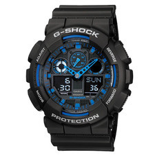 นาฬิกา CASIO G-shock GA-100-1A2DR BlackBlue