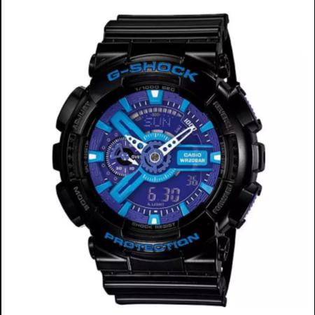Casio G-Shock นาฬิกาข้อมือผู้ชาย รุ่น GA-110HC-1ADR (ประกัน cmg)