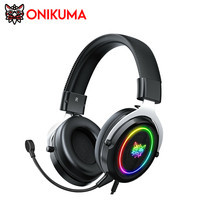 Onikuma X10 RGB Gaming Headset หูฟัง หูฟังมือถือ หูฟังเกมส์มิ่ง มีแสงไฟ RGB ใช้งานได้ทั้ง PC / Mobile / PS4 / XBOX / Nintendo Switch