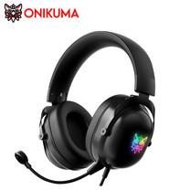 Onikuma X11 RGB Gaming Headset หูฟัง หูฟังมือถือ หูฟังเกมมิ่ง มีไฟ RGB ใช้งานได้ทั้ง PC / Mobile / PS4 / XBOX / Nintedo Switch