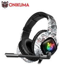ONIKUMA K19 Gaming Headset รองรับการใช้งานบน PC, Mobile, PS4, Switch