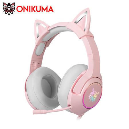 ONIKUMA K9 Gaming Headset ๋Jack 3.5 mm รองรับการใช้งานทั้ง มือถือ PC,PS4, XBOX ONE