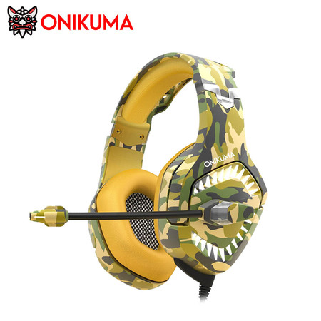ONIKUMA K1B PRO Gaming Headset รองรับการใช้งานบน PC, Mobile, PS4, Switch