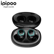 หูฟัง IPIPOO TP-18 True Wireless Sports Earbuds with Charging Case หูฟัง Bluetooth หูฟังไร้สาย หูฟังกันน้ำ หูฟังออกกำลังกาย หูฟังมาพร้อมเคสชาร์จ รับประกัน 1 ปีเต็ม เสียเปลี่ยนตัวใหม่