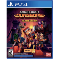 PS4 : MINECRAFT DUNGEONS HERO EDITION (Z2/EU)