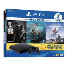 PS4: SLIM 1 TB 3 เกม * 1จอย plus 3เดือน มือ1 เครื่องศูนย์โซนี่ไทย