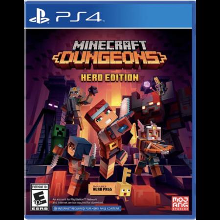 PS4 : MINECRAFT DUNGEONS HERO EDITION (Z2/EU)