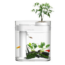 Xiaomi HFJH Geometry Fish Tank + Humidifier (Wisdom Edt.) - ตู้ปลาจำลองระบบนิเวศน์ในน้ำรุ่นวิสดอม