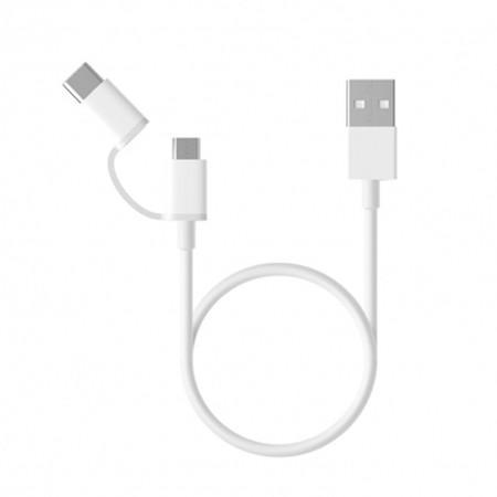 สายชาร์จ Xiaomi Data Combo Cable (Micro USB + Type C)