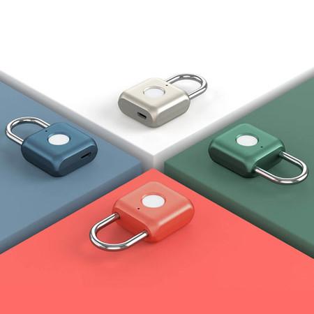 Xiaomi Uodi Smart Fingerprint Padlock - กุญแจสแกนลายนิ้วมือ