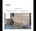 Way U (เวยู) เก้าอี้นวดไฟฟ้า รุ่น WUC01-2-B (รุ่นโยก สีเบจ)