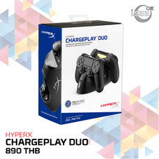 HyperX ChargePlay Duo Dualshock4 Controller Charging Station for Playstation 4 (HX-CPDU-A)