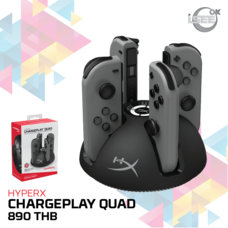 HyperX ChargePlay Quad Joy-con Controller Charging Station for Nintendo Switch(HX-CPQD-U)