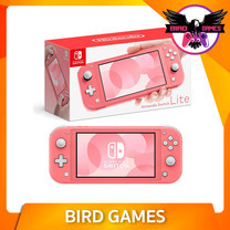 Nintendo Switch Lite ประกัน 1 ปี สีชมพู Coral