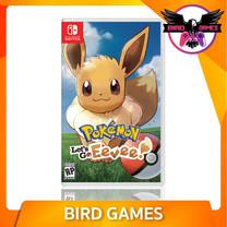 Pokemon Let's Go Eevee Nintendo Switch Game