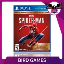 Spiderman Game of the Year PS4 Game