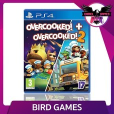 Overcooked + Overcooked 2 PS4 Game