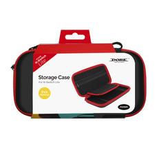 กระเป๋า Nintendo Switch Lite Dobe สีดำขอบแดง แบบหนัง