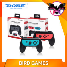 DOBE Controller Grip for Joy-Con 2 อัน สีชมพู เขียว