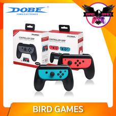 DOBE Controller Grip for Joy-Con 2 อัน สีฟ้า แดง