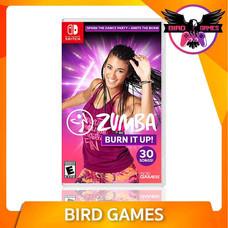 Zumba Burn It Up Nintendo Switch Game