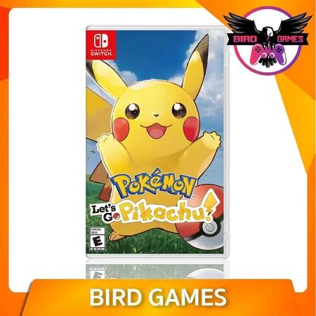Pokemon Let's Go Pikachu Nintendo Switch Game