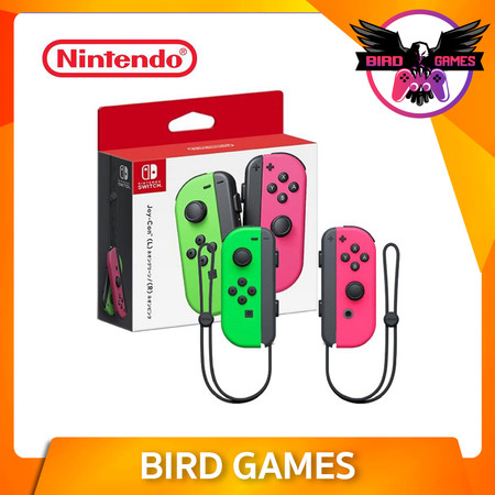 Joy Con Nintendo Switch สีชมพู เขียว