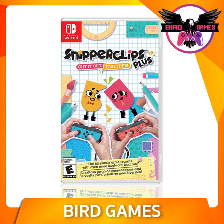 Snipper Clips Nintendo Switch Game