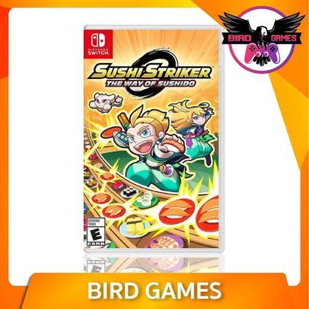 Sushi Striker The Way of Sushido Nintendo Switch Game