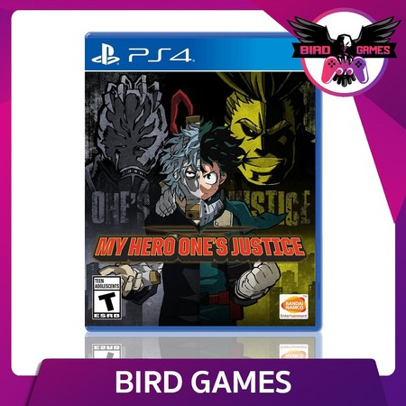 My Hero One's Justice PS4 Game
