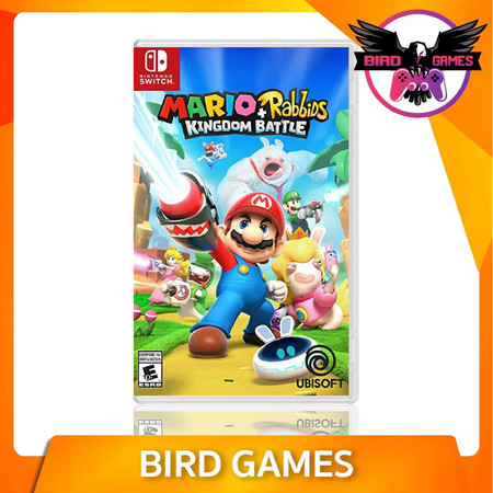 Mario Rabbids Kingdom Battle Nintendo Switch Game