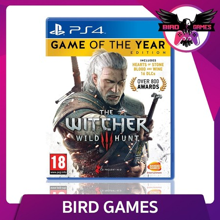 The Witcher 3 Wild Hunt Game of The Year Edition PS4 Game