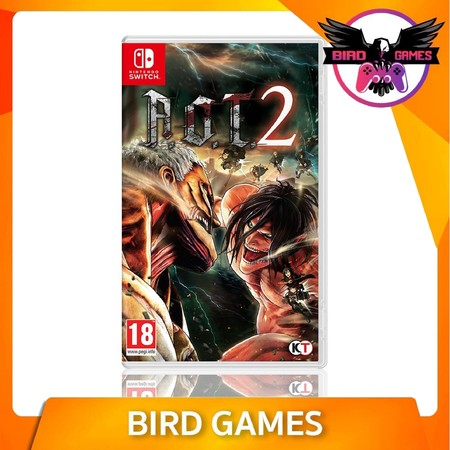 Attack on Titan 2 (A.O.T.2) Nintendo Switch Game