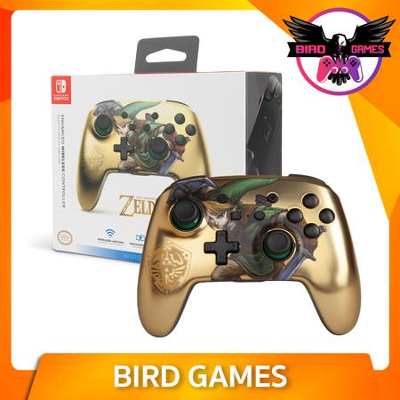 PowerA Enhanced Wireless Controller for Nintendo Switch ลาย Zelda Link Gold