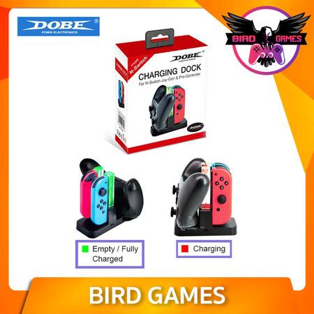 DOBE แท่นชาร์จจอย Joy Con + Joy Pro [Nintendo Switch]