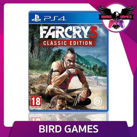 Farcry 3 Classic Edition PS4 Game