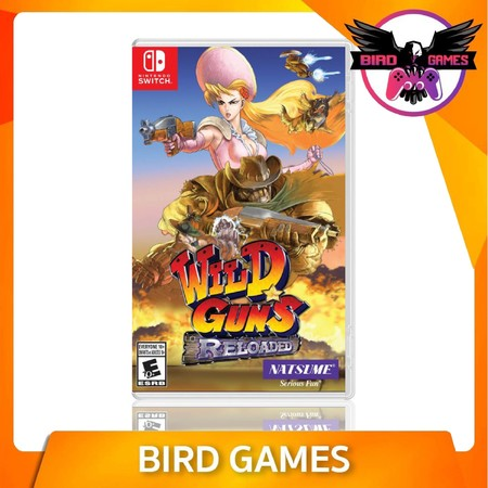 Wild Guns Reloaded Nintendo Switch Game