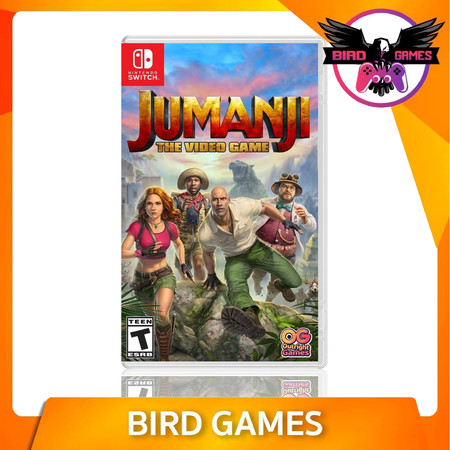 Jumanji The Video Game Nintendo Switch Game