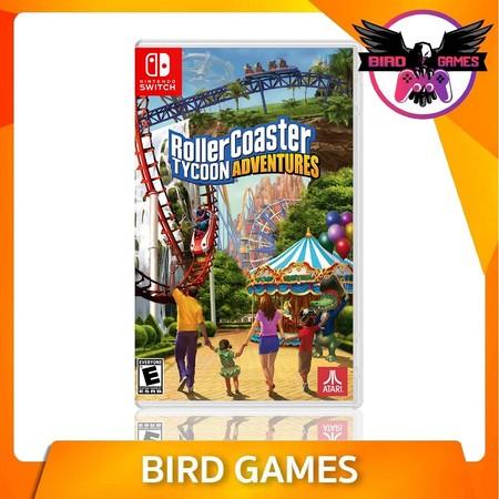 Roller Coaster Tycoon Adventures Nintendo Switch Game