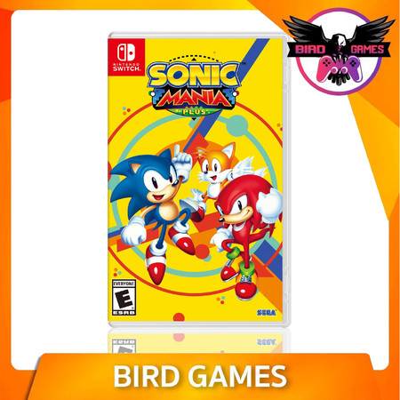 Sonic Mania Nintendo Switch Game