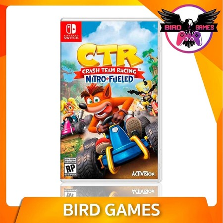 Crash Team Racing Nitro Fueled Nintendo Switch Game